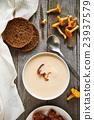 mushroom, soup, bowl 23937579