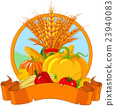 Thanksgiving Harvest Design 23940083