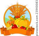 Thanksgiving Harvest Design 23940083