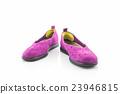 Purple sneakers. Canvas Shoe. 23946815