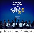 Savings Account Money Global Finance Concept 23947743