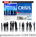Crisis Loss Recession Disaster Business Concept 23947800