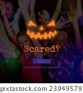 Scared Fear Afraid Scream Shout Horror Facial Concept 23949579