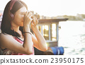 Girls Photography Traveling Trip Sightseeing Concept 23950175