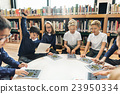 School Teacher Teaching Students Learning Concept 23950334