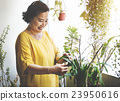 Planting Plantation Growth Housewife Activity Concept 23950616