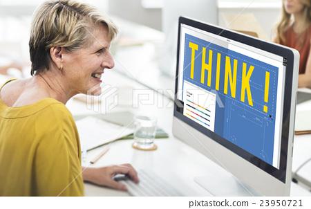 Think Thinking Design Creative Ideas Concept 23950721