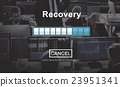Recovery Crisis Processing Loading Icon Concept 23951341