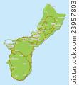 关岛 地图 潜水 23957803