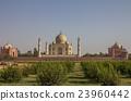 Back view of Taj Mahal India 23960442