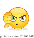 Dislike sign smiley emoticon 23961240