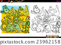 dragon characters coloring book 23962158