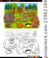 animals group coloring page 23962169