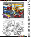 图画书 汽车 车 23962173