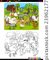 farm animals coloring book 23962177