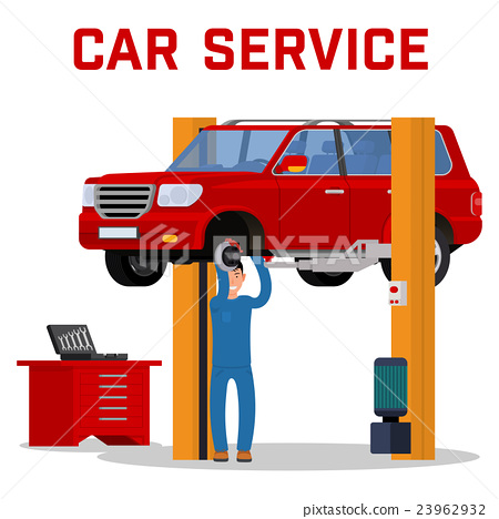 Car services - maintenance repair and diagnostics 23962932