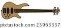 Electric fretless bass guitar 23963337