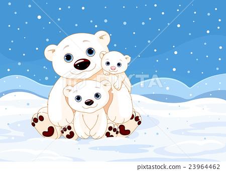Polar Bear Family 23964462