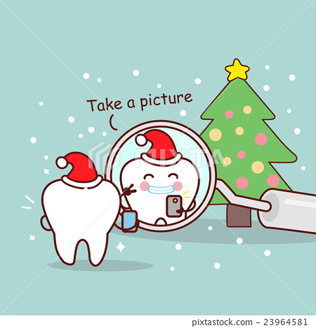 cute cartoon dentist brush tooth - Stock Illustration [23964581] - PIXTA