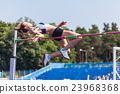 young woman in highjump 23968368