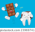 Teeth and chocolate 23969741