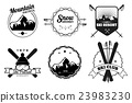 Ski Resort Emblems 23983230