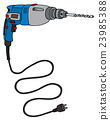 Blue impact drill 23985388