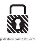 Lock Icon illustration design 23985671
