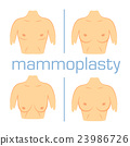 Correction form size breast white back 23986726
