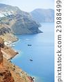 Beautiful sea view from Santorini 23988499
