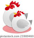 雞 公雞 鳥兒 23989460
