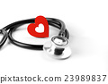 healthcare and medical concept, stethoscope 23989837