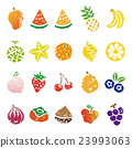 fruit, fruits, icon 23993063