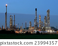 oil refinery with beautiful sky background 23994357