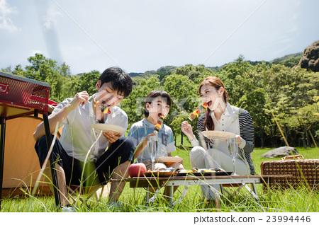 가족 캠핑 가족 23994446