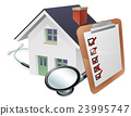 House Stethoscope and Survey Clipboard Concept 23995747