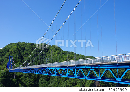 桥 桥梁 吊桥 23995990