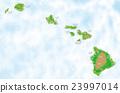 夏威夷 夏威夷群島 地圖 23997014