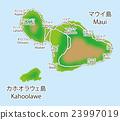 夏威夷 夏威夷群島 地圖 23997019