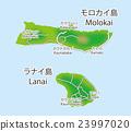 夏威夷 夏威夷群島 地圖 23997020