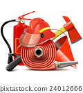 Vector Fire Prevention Equipment Concept 24012666