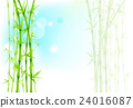 leaf, bamboo, vector 24016087