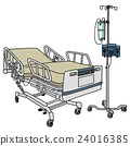 Hospital position bed 24016385