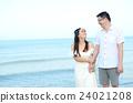 海 海灘 情侶 24021208