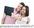 selfie, couple, human 24024517
