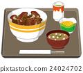丼物(蓋澆飯) 午飯 一套 24024702