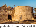 Othello Castle in Harbour of Famagusta. Cyprus 24029034