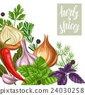 香料 蔬菜 香草 24030258