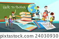 Schoolchildren Group Classroom Back To School 24030930