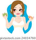 Choosing Healthy Apple 24034760